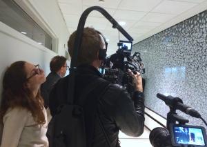 Producing in Brigham & Women's hospital in Boston. November 2014.
